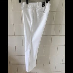New The Limited White Pencil Pant 6 R